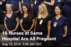 16 Nurses at Same Hospital Are All Pregnant