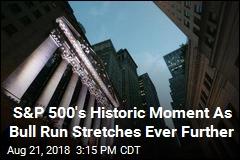 S&P 500 Hits Historic High as Bull Market Nears Longest Ever