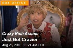 Crazy Rich Asians Just Got Crazier