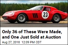 This Is the Priciest Car Ever Auctioned