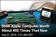 This 1970s Apple Computer Still Works, Is Up for Auction
