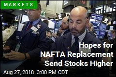 Hopes for NAFTA Replacement Send Stocks Higher