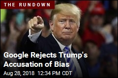 Google Rejects Trump's Accusation of Bias