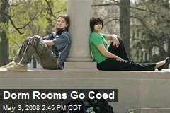 Dorm Rooms Go Coed
