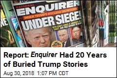 Report: Enquirer Had 20 Years of Buried Trump Stories