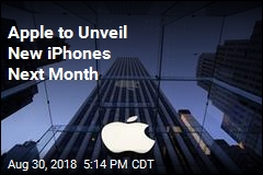 Apple to Unveil New iPhones Next Month