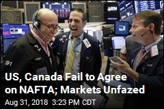 No NAFTA Deal Reached, but Markets Shrug It Off