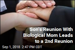 Son Reunites With Biological Parents; They Reunite With Each Other