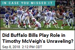 Did Buffalo Bills Play Role in Timothy McVeigh's Unraveling?