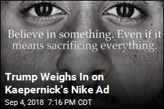 Trump Weighs In on Kaepernick's Nike Ad