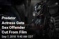 Sex Offender Cut From Predator at Last Minute