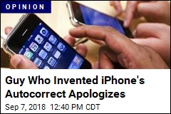 Guy Who Invented iPhone's Autocorrect Apologizes