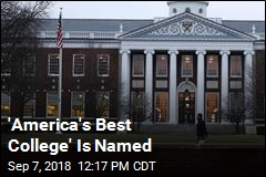 'America's Best College' Is Named
