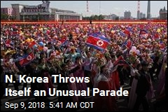 N. Korea Throws Itself an Unusual Parade