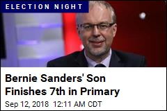Bernie Sanders' Son Comes 7th in Primary