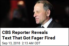 60 Minutes Chief Was Fired for Threatening Reporter's Job