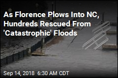 Hundreds Rescued From NC Floods as Florence Makes Landfall