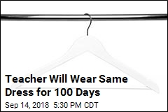 Teacher Will Wear Same Dress for 100 Days