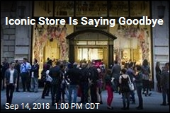 Bad News for Iconic Store
