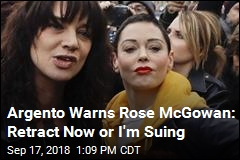 Asia Argento to Rose McGowan: Retract or I'm Suing
