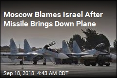 Russia Blames Israel After Syria Missile Kills 15