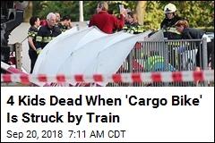 4 Kids Dead When 'Cargo Bike' Is Struck by Train