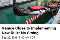 Venice Close to Implementing New Rule: No Sitting