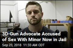 3D-Gun Advocate Accused of Sex With Minor Is Jailed
