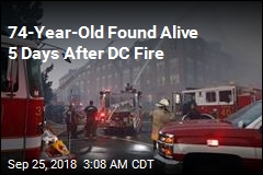 74-Year-Old Found Alive 5 Days After DC Fire