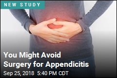 You Might Avoid Surgery for Appendicitis