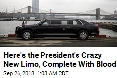 Here's the President's Crazy New Limo, Complete With Blood