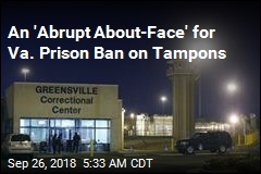 Prison Visitors in Va. Can Still Wear Tampons—for Now
