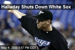 Halladay Shuts Down White Sox