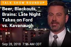 Kavanaugh 'Worst Spokesperson for Beer': Kimmel