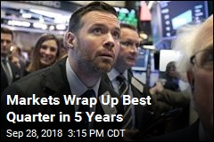 Markets Wrap Up Best Quarter in 5 Years