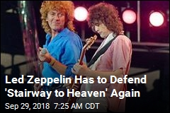 Led Zeppelin Has to Defend 'Stairway to Heaven' Again