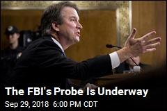 FBI Contacts Kavanaugh Classmate in Probe
