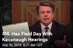 SNL Has Field Day With Kavanaugh Hearings