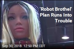 'Robot Brothel' Plan Runs Into Trouble