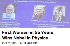 First Woman in 55 Years Wins Nobel in Physics