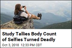 Study Reveals Hundreds Have Died Taking Selfies
