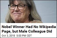 Female Nobel Winner Wasn't Famous Enough for Wikipedia