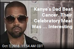 Kanye's Dad Beat Cancer, So the Pair Ate Bugs, Apparently
