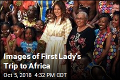 Images of First Lady's Trip to Africa