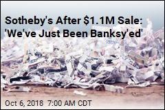 Sotheby's After $1.1M Sale: 'We've Just Been Banksy'ed'