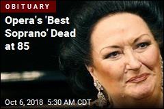 Opera's 'Best Soprano' Dead at 85