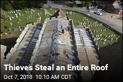 Church Wakes Up to Find Roof Entirely Gone