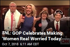 SNL: GOP Celebrates Making 'Women Real Worried Today'