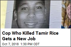 Cop Who Killed Tamir Rice Gets a New Job