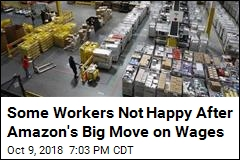 Despite Raise, Some Amazon Workers Say They'll Make Less